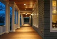 Porch lighting, Traditional and Home design on Pinterest