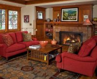 48 best images about Mission Style Living Rooms on ...