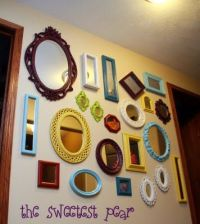 25+ best ideas about Decorate mirror on Pinterest