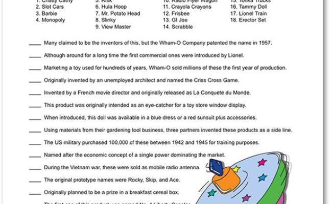 Printable Toy Trivia Challenge Apple Jack Party