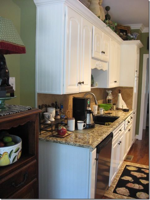Beadboard Wallpaper Project Kitchens And Bathrooms End