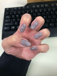 Essie - Miss Fancy Pants / Gray nails / Oval nails | Pin's ...