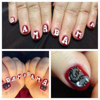 25+ best ideas about Alabama Nail Art on Pinterest ...