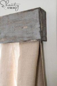 17 Best ideas about Wooden Valance on Pinterest | Window ...