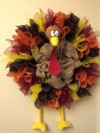 Best 25+ Thanksgiving wreaths ideas on Pinterest