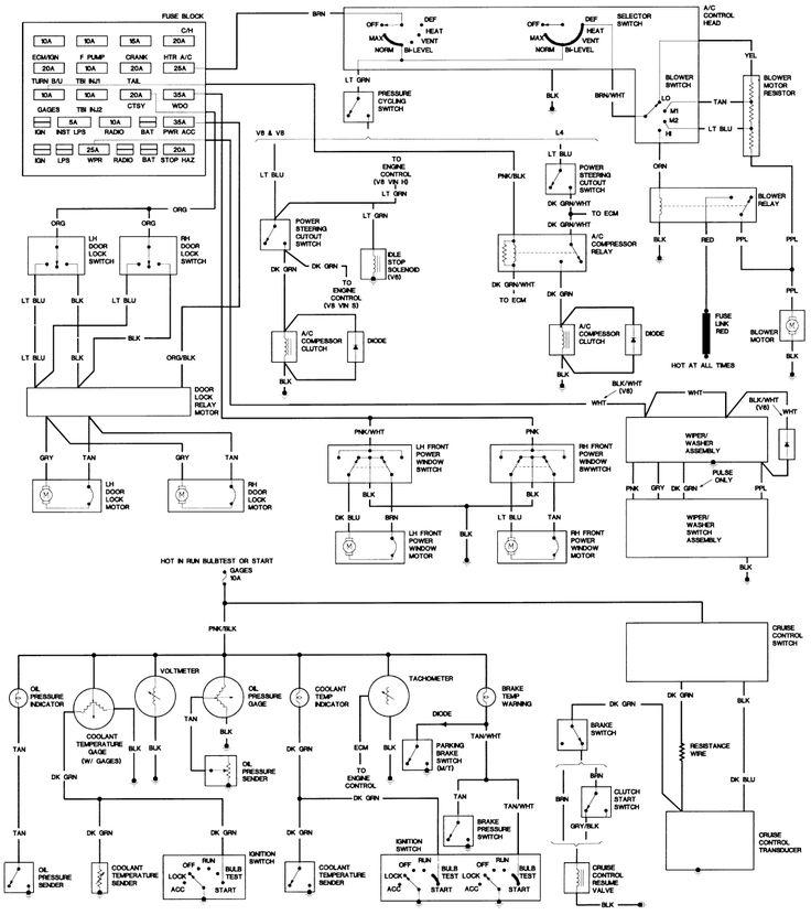 1987 camaro iroc z wiring diagram