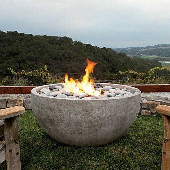 25 Best Ideas About Modern Fire Pit On Pinterest Glass
