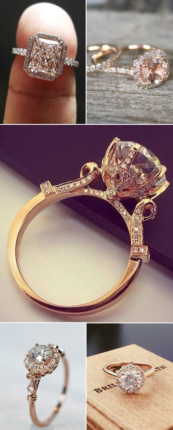 my big fat harry potter wedding yes it will happen harry potter wedding bands 12 Impossibly Beautiful Rose Gold Wedding Engagement Rings