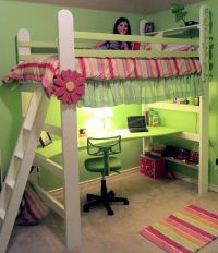 Diy Loft Bed With Desk - WoodWorking Projects & Plans