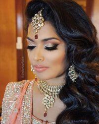 25+ best ideas about Indian Bridal Makeup on Pinterest ...