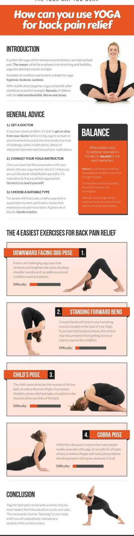 Yoga Relieves Back Pain