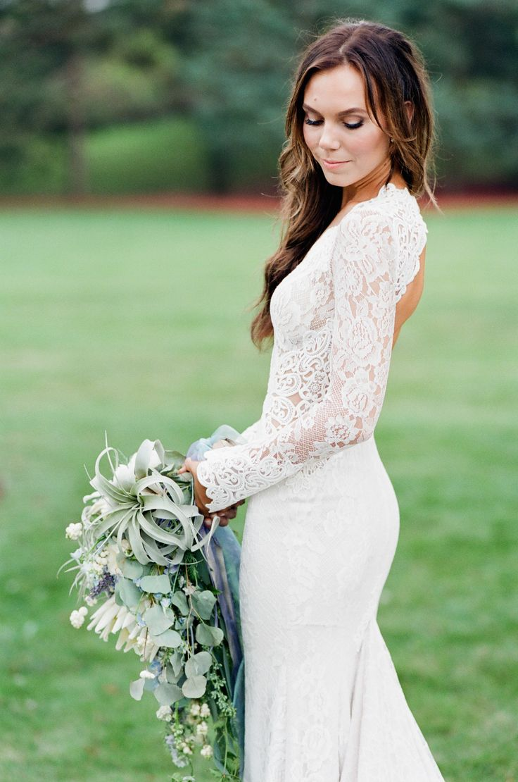 lace sleeve wedding dress sleeved wedding dresses White Lace Long Sleeve Wedding Dress