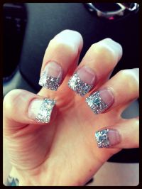 1000+ ideas about Acrylic Nails Glitter on Pinterest ...