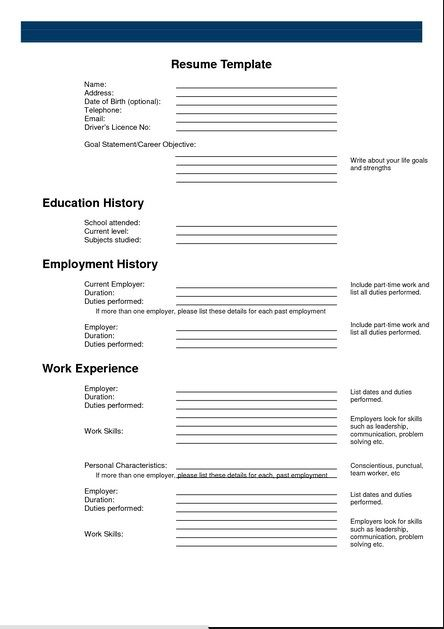 Online Resume Examples Free Online Resume Maker - free resume templates to print