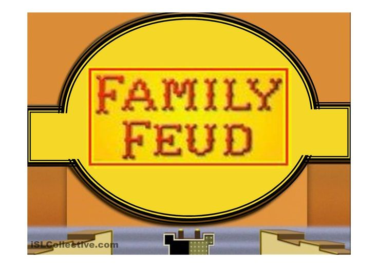 Family Feud Game Power Point Template ESL Powerpoints of the day - family feud power point template