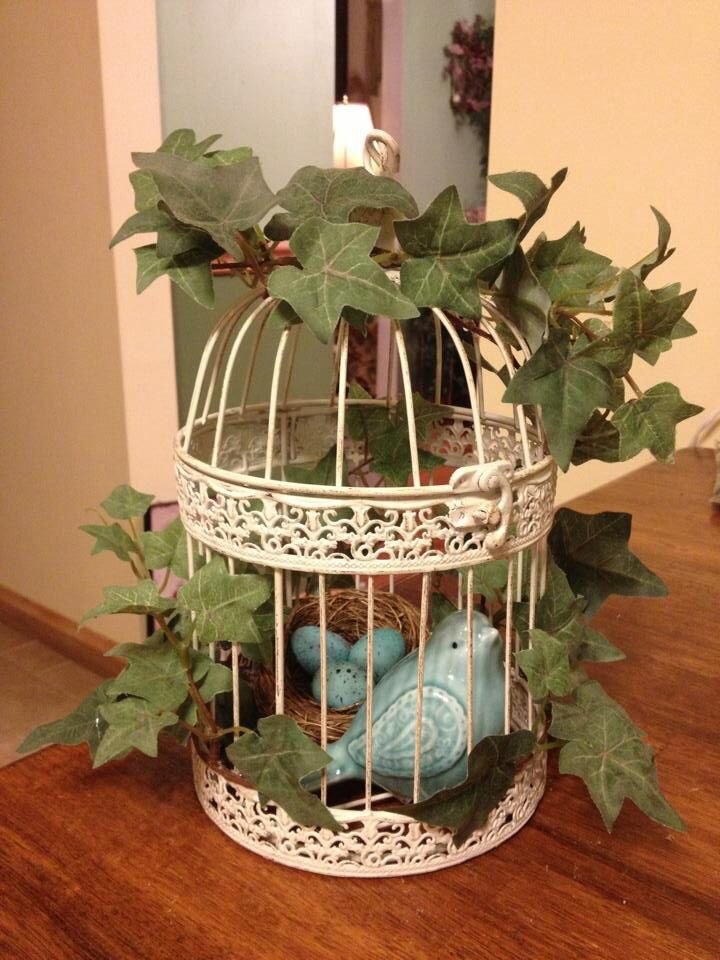 Fall Outdoor Decorations Wallpaper Bird Cage Decoration My Creative Crafty Ideas