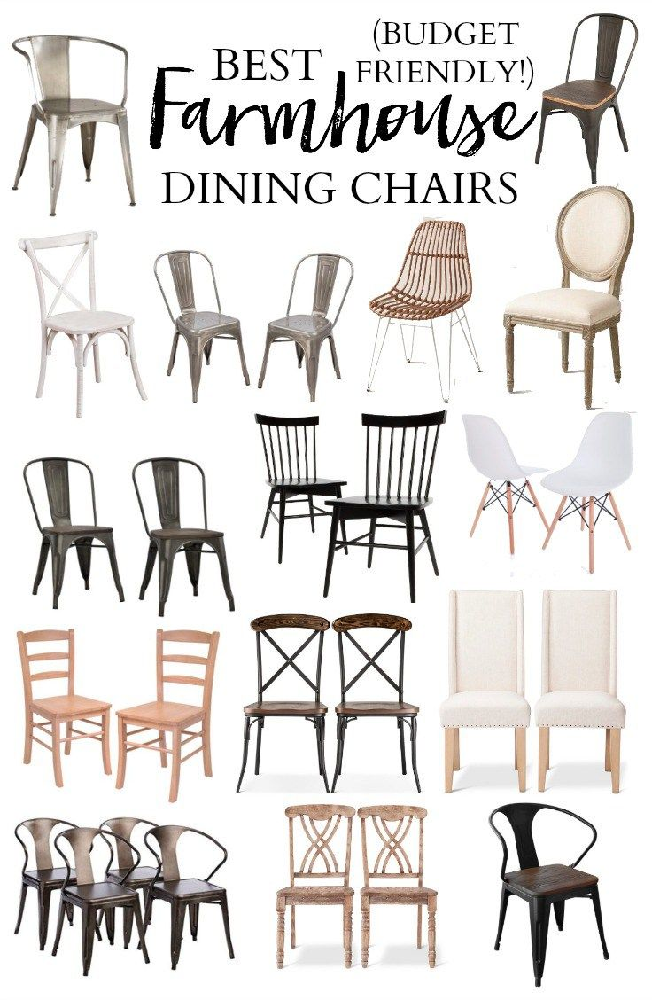 25+ best ideas about Farmhouse table chairs on Pinterest