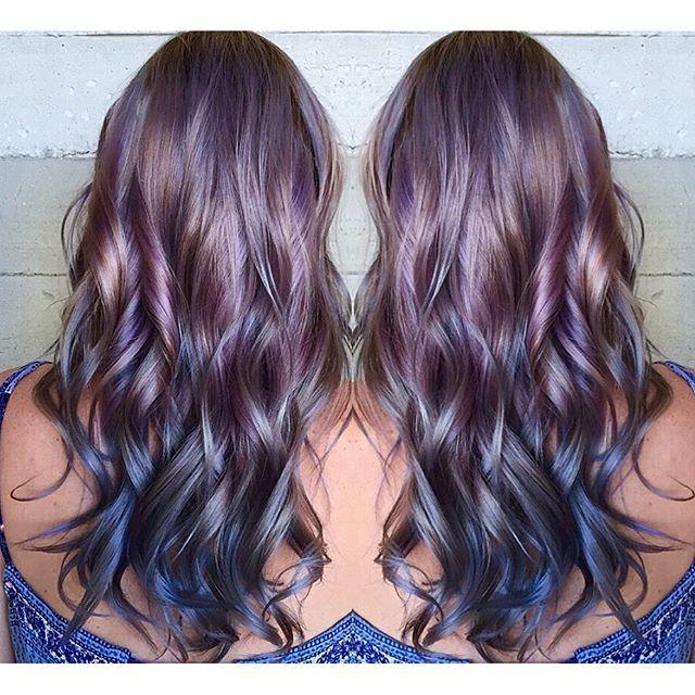 25+ best ideas about Metallic hair dye on Pinterest