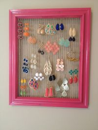 10 best images about diy earring holder on Pinterest ...