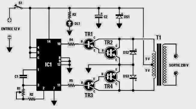 types of electrical motor circuit diagrams