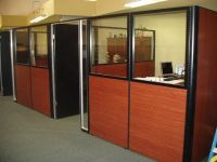office cubicle with DOOR - Google Search | CUBICLE IDEAS ...