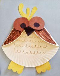 Fun Activities for Kids - Paper Plate Owl Craft | Fun ...