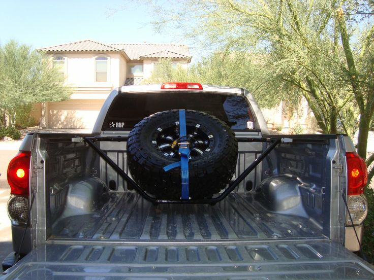 N Fab Spare Tire Rack Random Pinterest Tire Rack