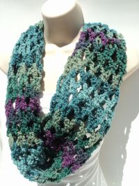 Patterns For Infinity Scarves. Great Crochet Infinity ...