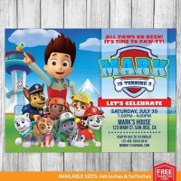 Top 25+ best Paw patrol invitations ideas on Pinterest ...