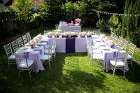 images of small backyard weddings | Beautiful Yard Shower ...