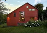 Architecture, Barn Dusk Converted Pole Barn Homes Home ...
