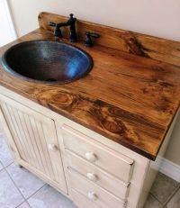 1000+ ideas about Rustic Bathroom Vanities on Pinterest ...