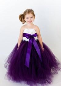 Purple flower girl dress | Purple Wedding Ideas ...