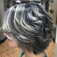 511 best images about My Salt and Pepper Hair on Pinterest