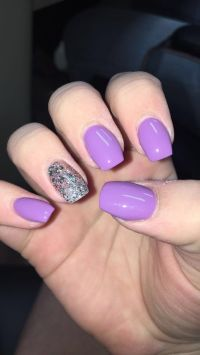 25+ best ideas about Purple acrylic nails on Pinterest ...