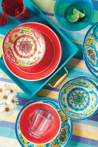 Our gorgeous melamine dinnerware is now available at