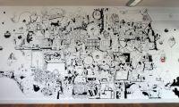 Mural image | Art | Pinterest | Walls and Doodles