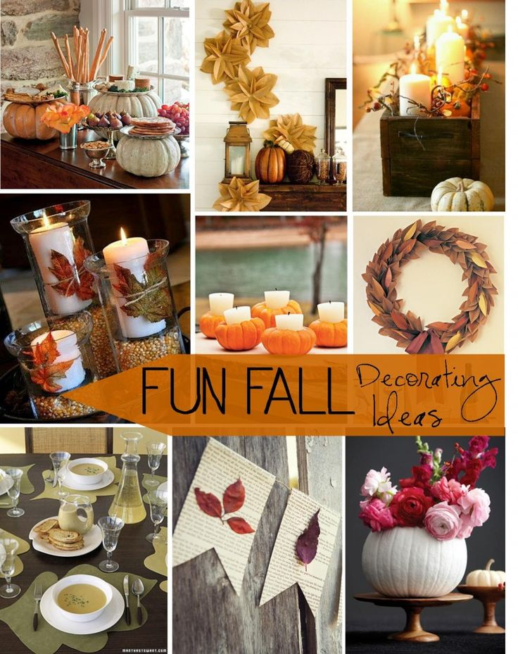 81 Best Images About Fall Decorating On Pinterest