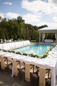 25+ best ideas about Backyard wedding pool on Pinterest ...