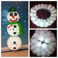 cup snowman | Door Designs | Pinterest | Cups and Snowman