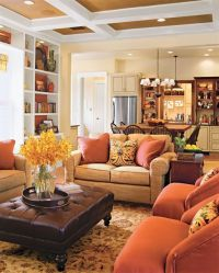 Cozy Country Style Living Room Designs | room ideas ...