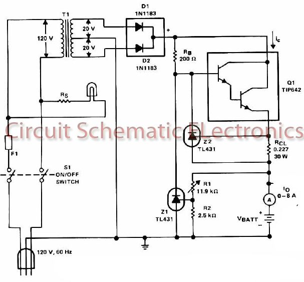 simple solar battery charger circuit homemade circuit projects