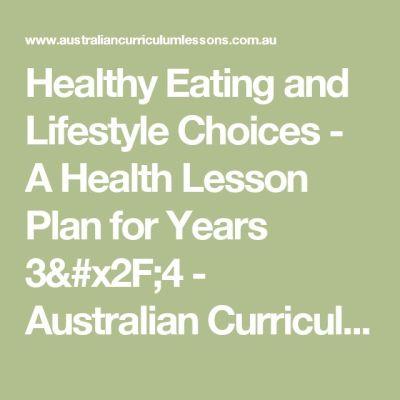 1000+ ideas about Health Lesson Plans on Pinterest ...