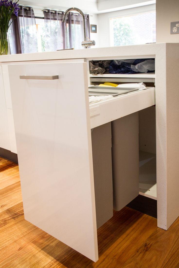 Brilliant Kitchen Recycling Center Ideas Bin Throughout Inspiration .