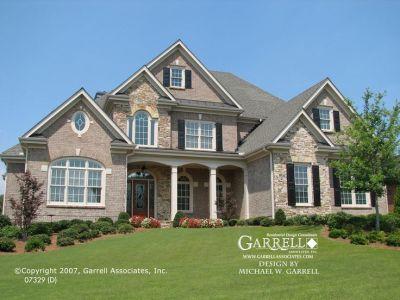 Garrell Associates, Inc.Newcastle D House Plan 07329 ...