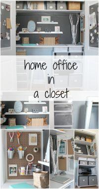 Best 25+ Home office closet ideas on Pinterest | Home ...