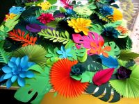 17 Best ideas about Tropical Party Decorations on ...