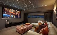 """Media room - Project lights/""""stars"""" on the ceiling 