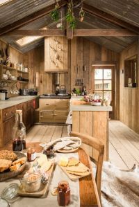 Best Rustic Interiors ideas on Pinterest | Cabin interior ...