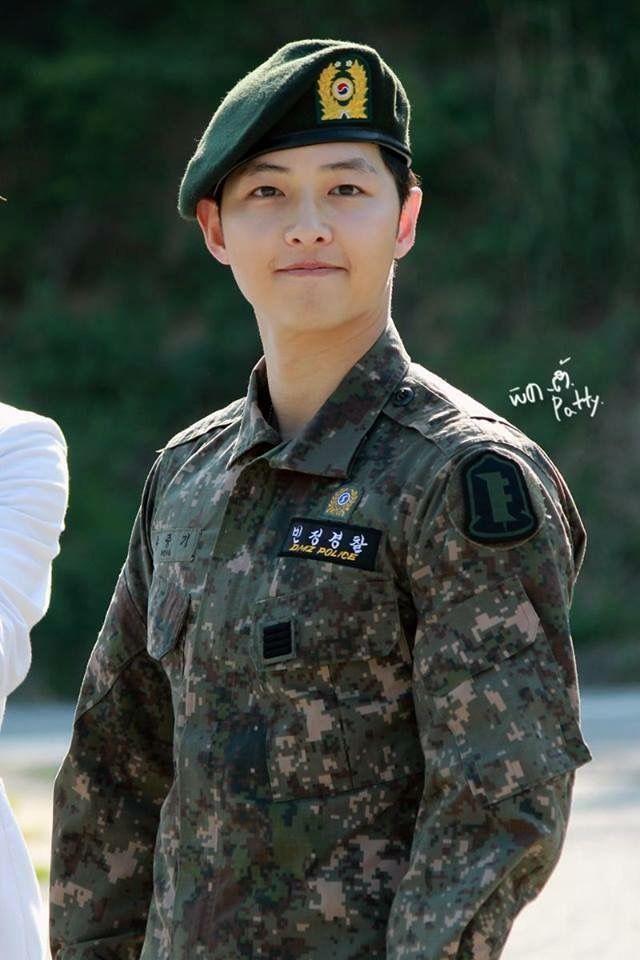 Descendants Of The Sun Hd Wallpaper Song Joong Ki ️ Cuteness Overload Military Service